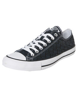 BLACK MENS FOOTWEAR CONVERSE SNEAKERS - SS166987CBLKM