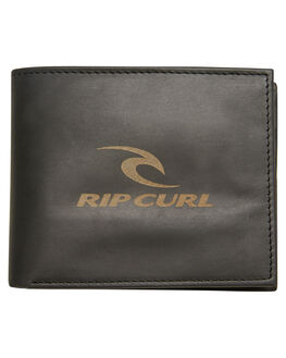 BLACK MENS ACCESSORIES RIP CURL WALLETS - BWLIH10090
