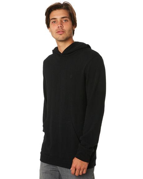 BLACK MENS CLOTHING VOLCOM JUMPERS - A5331900BLK