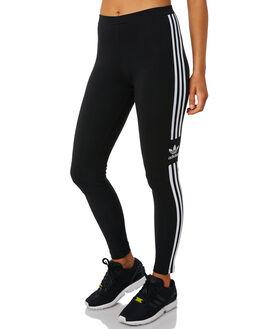 BLACK WOMENS CLOTHING ADIDAS ACTIVEWEAR - DV2636BLK