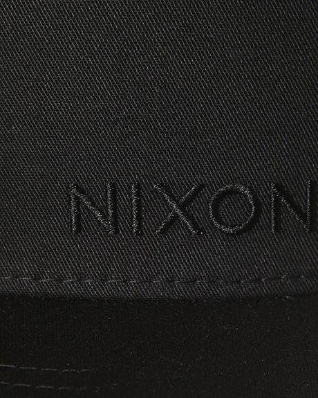 ALL BLACK MENS ACCESSORIES NIXON HEADWEAR - C20601147