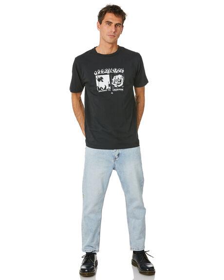 TIME WORN BLUE MENS CLOTHING THRILLS JEANS - TDP-414ETWTMWBL