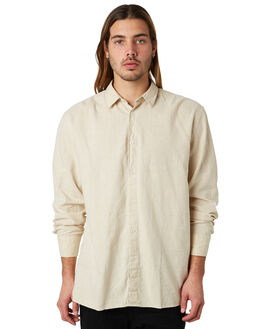 NATURAL MENS CLOTHING ZANEROBE SHIRTS - 307-FTNATRL