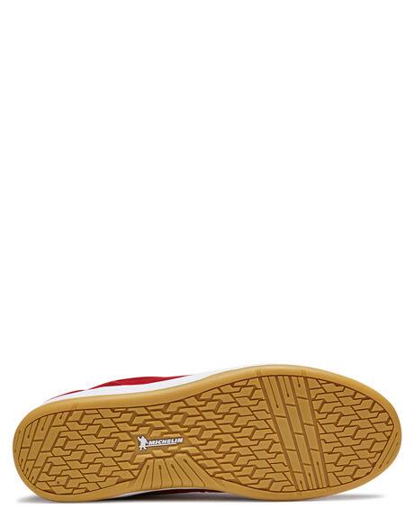 RED MENS FOOTWEAR ETNIES SNEAKERS - 4101000516619