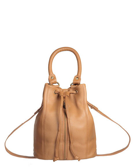TAN WOMENS ACCESSORIES STATUS ANXIETY BAGS + BACKPACKS - SA7162TAN