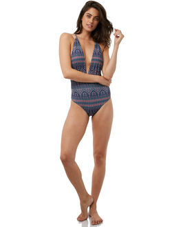 CHINA BLUE MAIDEN WOMENS SWIMWEAR ROXY ONE PIECES - ERJX103100BND5