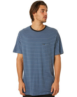 DEEP BLUE MENS CLOTHING VOLCOM TEES - A01118R0DPB