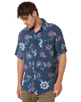 BLUE NIGHTS MENS CLOTHING RUSTY SHIRTS - WSM0879BNI