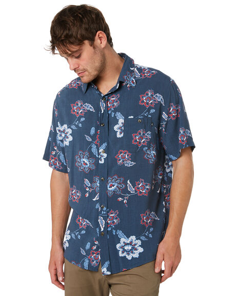 BLUE NIGHTS MENS CLOTHING RUSTY SHIRTS - WSM0879BNI