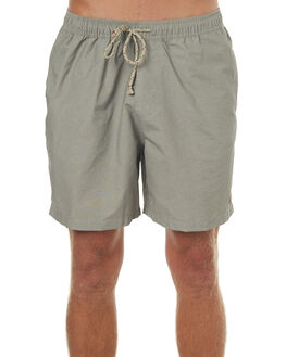 CLOUD GREY MENS CLOTHING MOLLUSK BOARDSHORTS - MS4035CLGRY