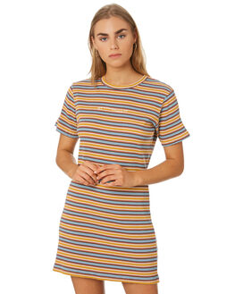 MUSTARD WOMENS CLOTHING RPM DRESSES - 9SWD02BMSTD
