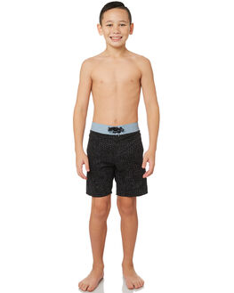 BLACK KIDS BOYS VOLCOM BOARDSHORTS - C0841803BLK