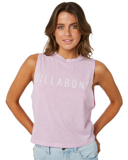 LILAC WOMENS CLOTHING BILLABONG SINGLETS - 6582189013