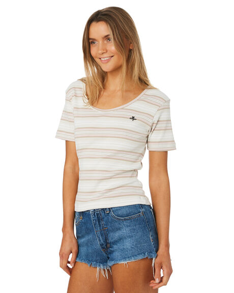 STRIPE WOMENS CLOTHING THRILLS TEES - WTH8-101AZSTR