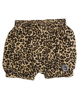 LEOPARD KIDS BABY SWEET CHILD OF MINE CLOTHING - NAPNAPPNTLEO