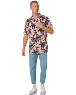 CORAL PALMS MENS CLOTHING RPM SHIRTS - 8PMT12BCPLMS