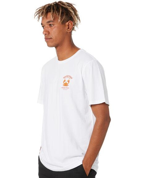 WHITE MENS CLOTHING DEPACTUS TEES - D5211001WHITE