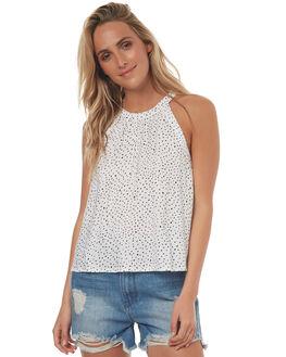 STAR WHITE WOMENS CLOTHING VOLCOM FASHION TOPS - B0541701SWHT