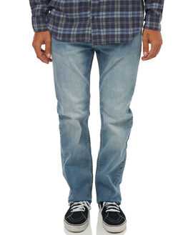 SALT BLUE MENS CLOTHING RIP CURL JEANS - CDEDF19421
