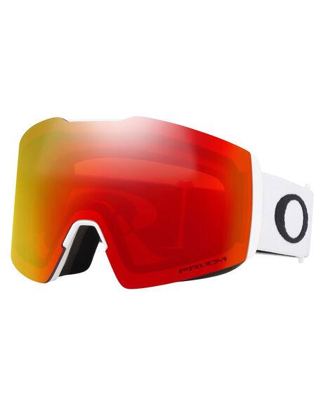WHITE PRIZM TORCH BOARDSPORTS SNOW OAKLEY GOGGLES - OO7099-07MWHT