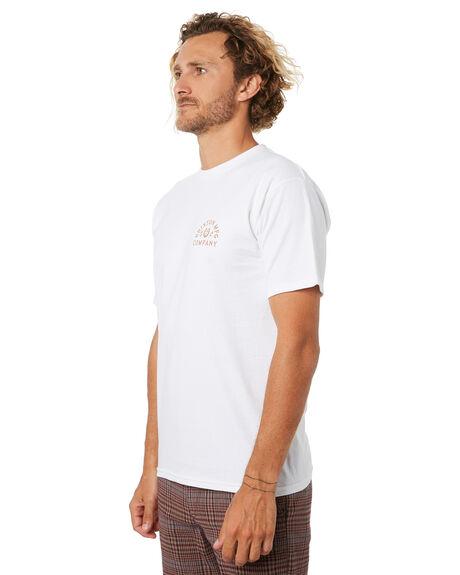 WHITE MENS CLOTHING BRIXTON TEES - 16133WHT