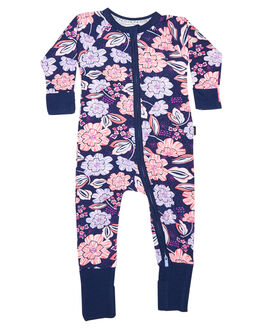 MIDNIGHT FLORAL KIDS BABY BONDS CLOTHING - BZBVA7HD
