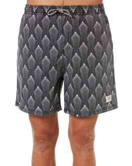 BLACK MENS CLOTHING KATIN BOARDSHORTS - TRDUS01BLK