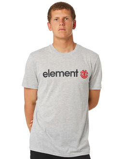 GREY MARLE MENS CLOTHING ELEMENT TEES - 183001GRY