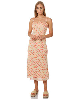 PRINT WOMENS CLOTHING LULU AND ROSE DRESSES - LU23830PRNT