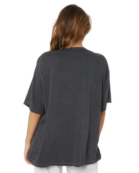 VINTAGE BLACK WOMENS CLOTHING MISFIT TEES - MT115000VBLK