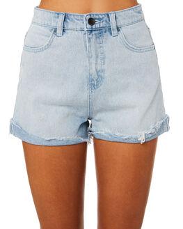 WASHED SLATE WOMENS CLOTHING BILLABONG SHORTS - 65822746WS