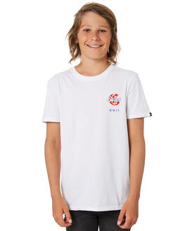 WHITE KIDS BOYS ST GOLIATH TOPS - 2450006WHT