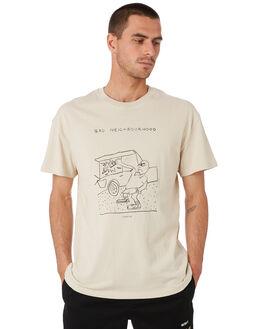 WARM WHITE MENS CLOTHING MISFIT TEES - MT091010WRMWH