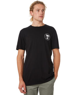 BLACK MENS CLOTHING SWELL TEES - S52011015BLACK