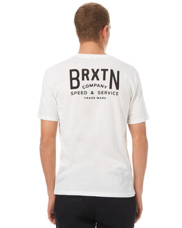 OFF WHITE MENS CLOTHING BRIXTON TEES - 06529OFFWH