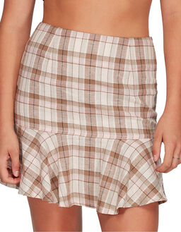 PALE ROSE WOMENS CLOTHING BILLABONG SKIRTS - BB-6595534X-PRO