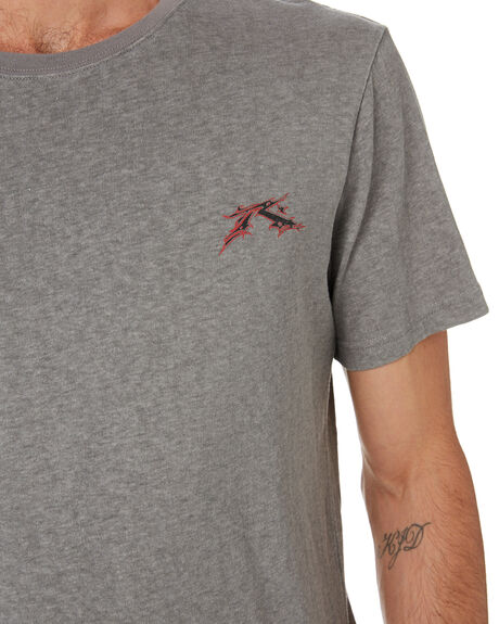 FROST GREY MENS CLOTHING RUSTY TEES - TTM2298FGR