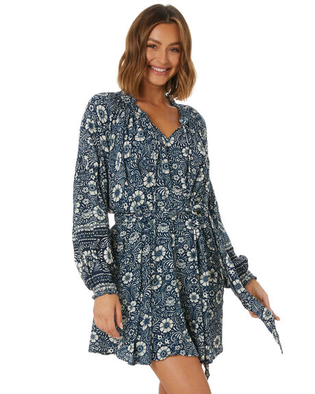 INK FLORAL WOMENS CLOTHING TIGERLILY DRESSES - T613406M07
