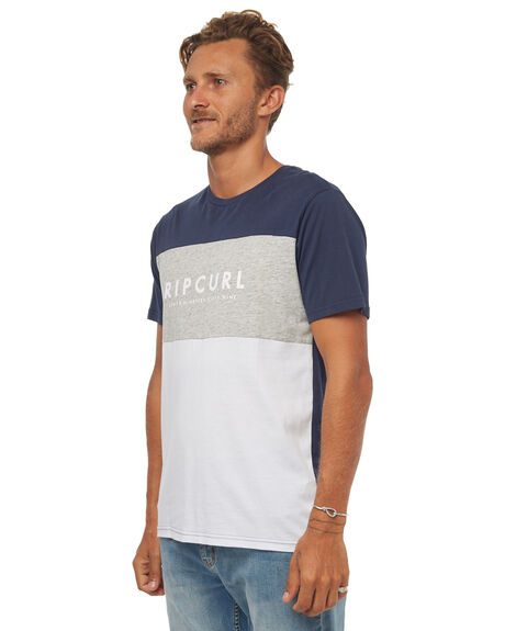 WHITE MENS CLOTHING RIP CURL TEES - CTEIA21000