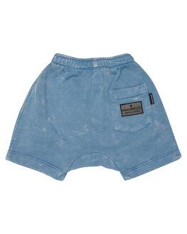 WASHED BLUE KIDS BABY MUNSTER KIDS CLOTHING - MI181TR05SWBLU