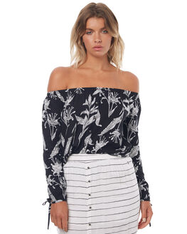 ANTHRACITE LOVE WOMENS CLOTHING ROXY FASHION TOPS - ERJWT03148ANTHR