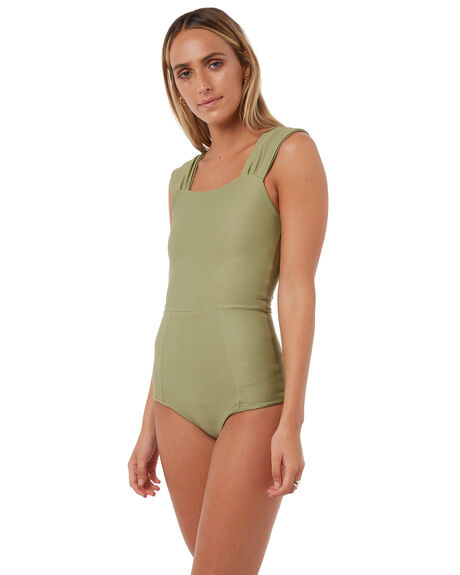 OLIVE WOMENS SWIMWEAR RUE STIIC ONE PIECES - RS118-7OLV