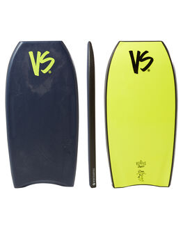 BLUE YELLOW SURF BODYBOARDS VS BODYBOARDS BOARDS - V18TORQ40MBBLUYW