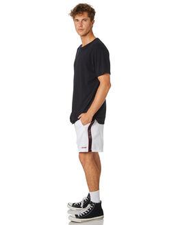 WHITE MENS CLOTHING STUSSY SHORTS - ST083613WHT