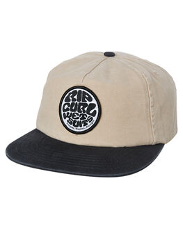 KHAKI MENS ACCESSORIES RIP CURL HEADWEAR - CCAAI90064