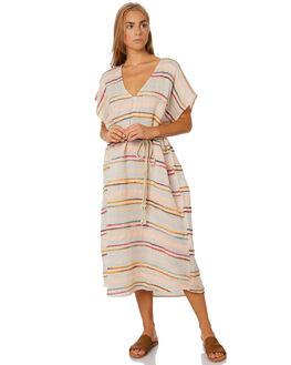 MULTI WOMENS CLOTHING SAINT HELENA DRESSES - SHSP19493AMULTI
