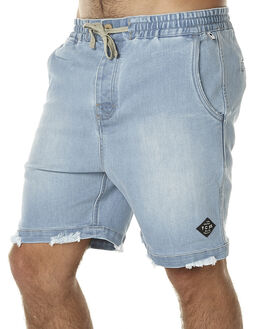 LIGHT INDIGO MENS CLOTHING THE CRITICAL SLIDE SOCIETY SHORTS - UW1504LIND