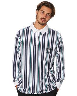 WHITE MENS CLOTHING STUSSY SHIRTS - ST097110WHT