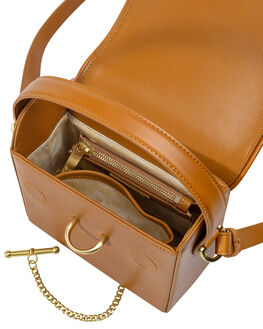 COGNAC WOMENS ACCESSORIES SANCIA BAGS + BACKPACKS - 146BCOG