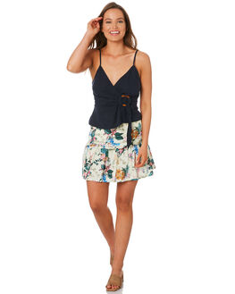 LEMON WOMENS CLOTHING TIGERLILY SKIRTS - T392275LEM